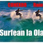 logo CONEXOO y Raiola surfean la ola